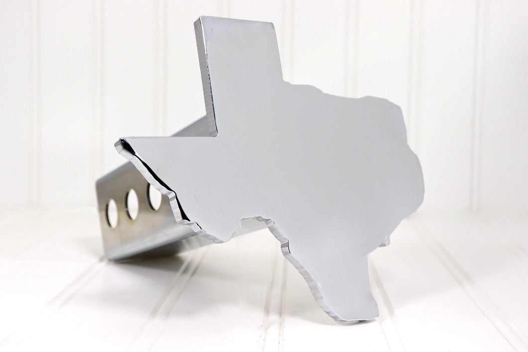 Chrome Texas Hitch Cover, Free Shipping