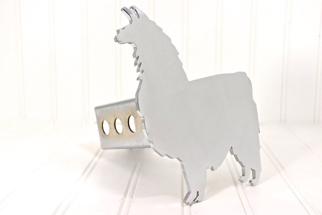 Chrome Llama Hitch Cover, Free Shipping