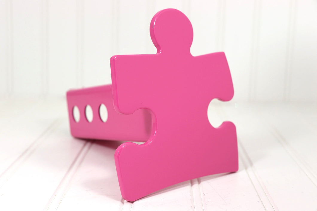 Pink Autism Puzzle Piece Hitch Cover, Free Shipping