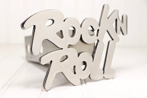 Stainless Rock n Roll Hitch Cover, Free Shipping
