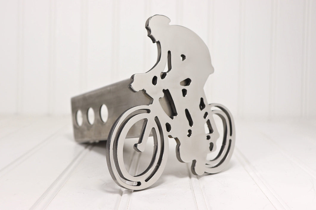 Stainless Road Bike Hitch Cover, Free Shipping