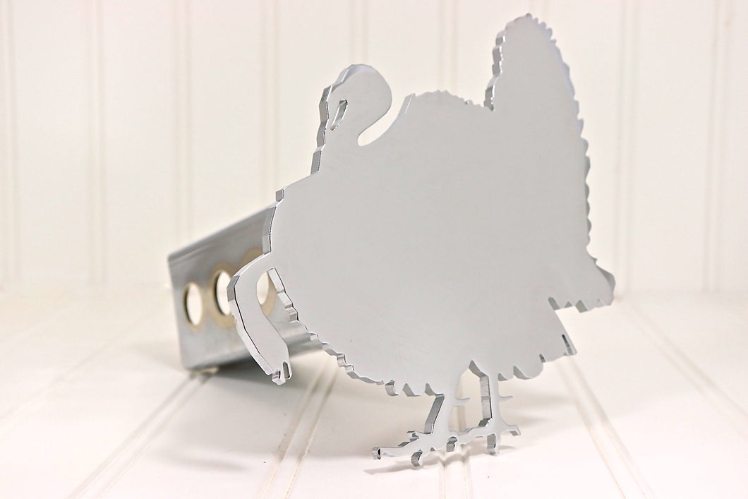Chrome Turkey Hitch Cover, Free Shipping