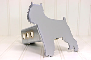 Chrome Brussels Griffon Hitch Cover, Free Shipping