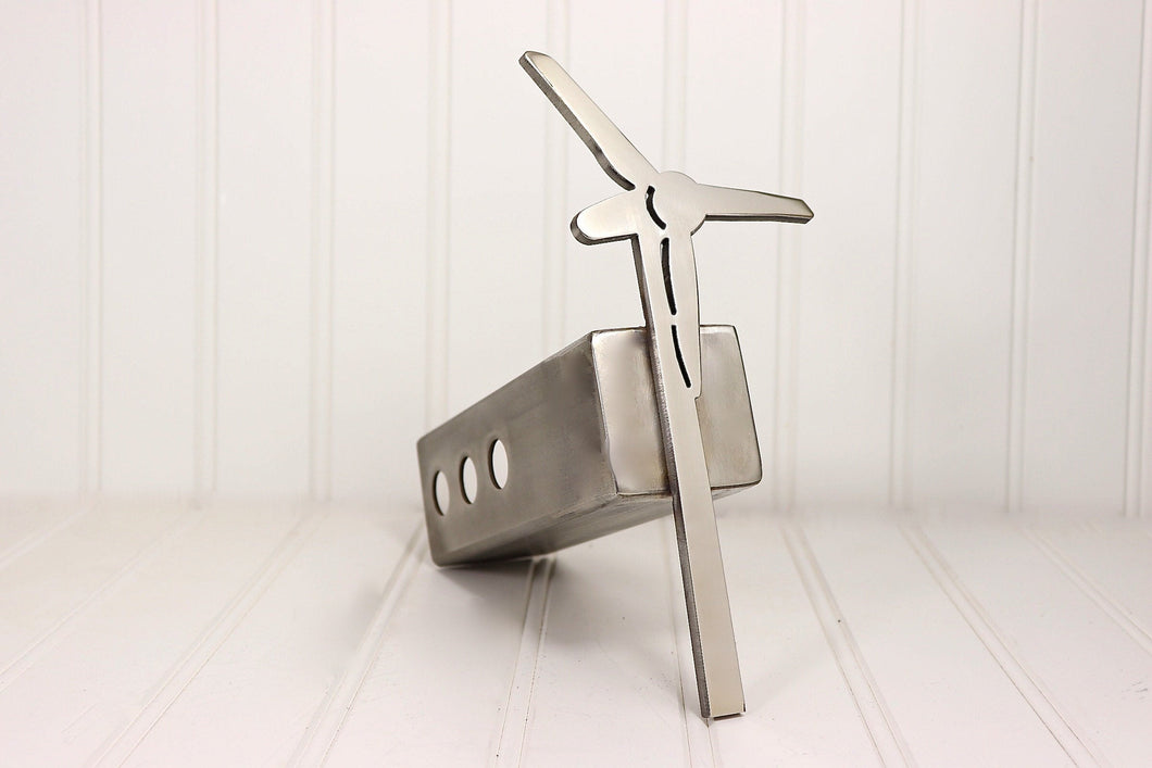 Stainless Wind Turbine Hitch Cover, Free Shipping