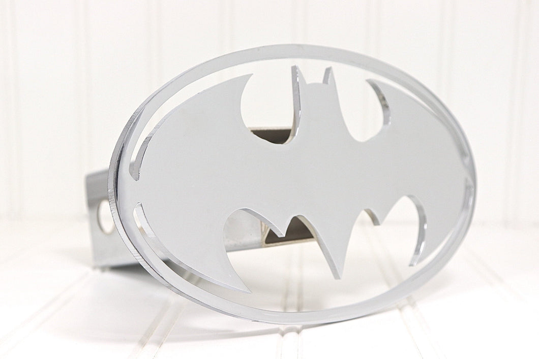 Chrome Batman Hitch Cover, Free Shipping
