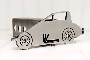 Stainless Sprint Car Hitch Cover, Free Shipping