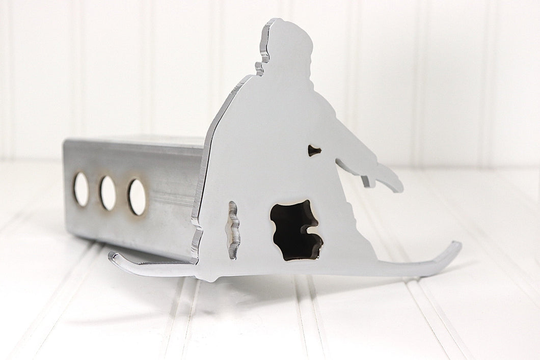 Chrome Snowboarding Hitch Cover, Free Shipping