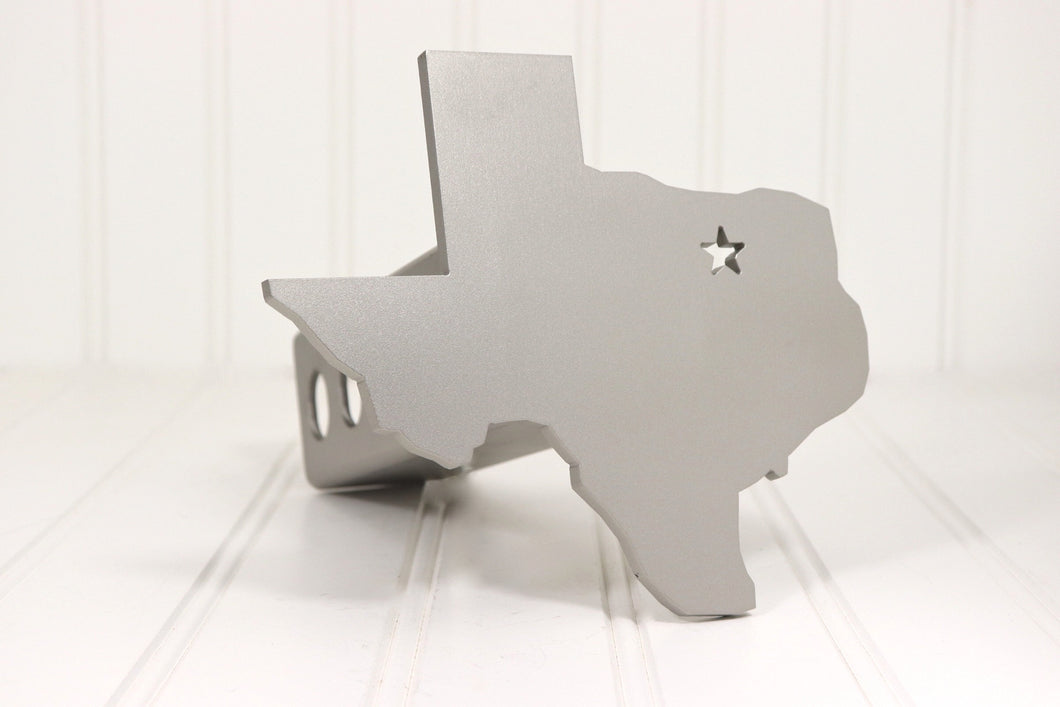 Stainless Texas with Star Hitch Cover, Free Shipping