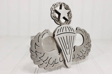 Load image into Gallery viewer, Stainless Steel Master Parachutist Badge Hitch Cover, Free Shipping