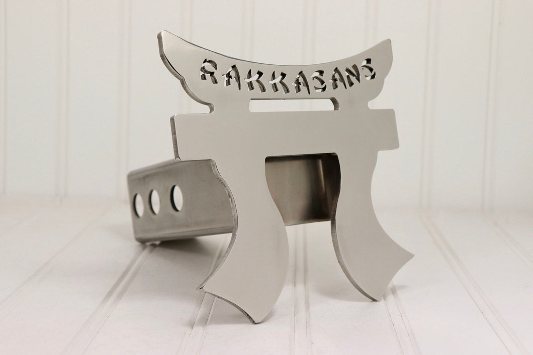 Stainless Steel RAKKASANS Hitch Cover, Free Shipping