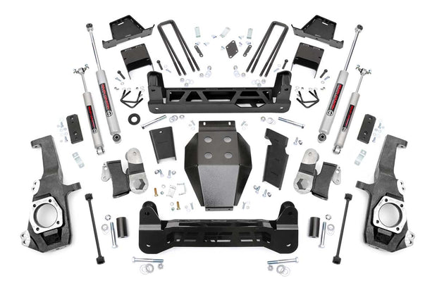 7IN GM NTD SUSPENSION LIFT KIT (2020 2500HD)