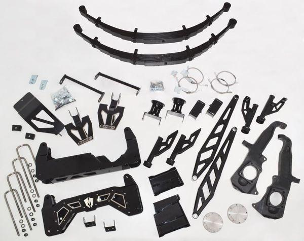 "10"" RAW Lift Kit for 2011-2019 GM Truck 2500/3500 (2WD/4WD, GAS & DIESEL)"