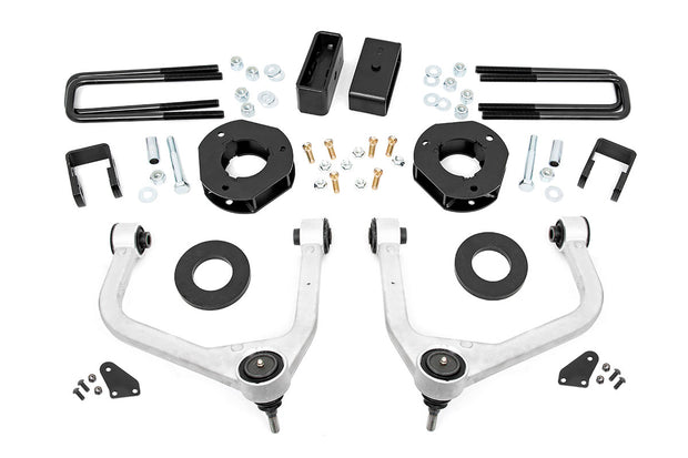 3.5IN GMC SUSPENSION LIFT KIT W/UPPER CONTROL ARMS (19-20 1500 4WD/2WD W/ ADAPTIVE RIDE CONTROL)