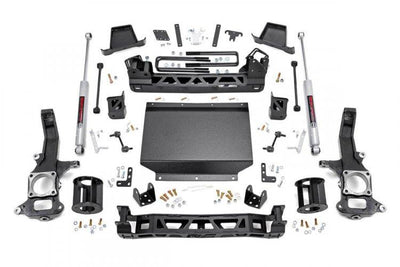 6IN NISSAN SUSPENSION LIFT KIT (16-19 TITAN XD 4WD)
