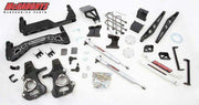 "7""-9"" Premium Black Stainless Steel Lift Kit for 2014-2018 GM Truck 1500 (4WD) w/STAMPED STEEL or ALUMINUM FACTORY ARMS"
