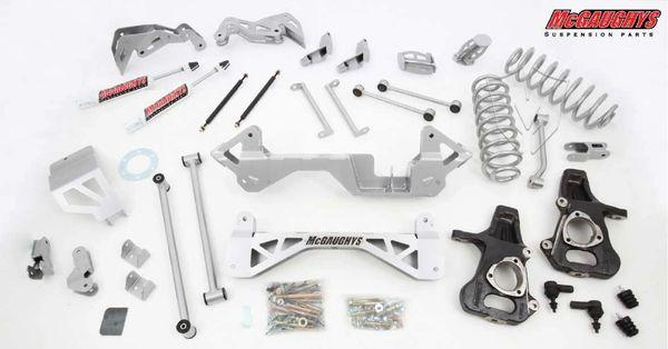 "7"" Premium Lift Kit for 2001-2006 GM SUV 1500 (2WD, Auto Leveling)"