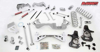 "7"" Premium Lift Kit for 2001-2006 GM SUV 1500 (2WD, Not Auto Leveling)"