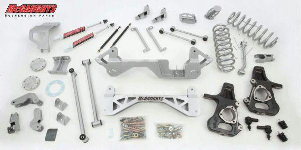 "7"" Premium Lift Kit for 2001-2006 GM SUV 1500 (4WD, Not Auto Leveling)"