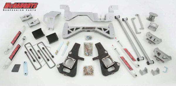 "7"" Premium Silver Lift Kit for 2002-2010 GM 3500 (2WD, Diesel)"