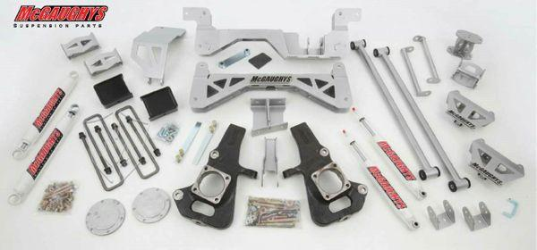 "7"" Premium Silver Lift Kit for 2002-2010 GM 3500 (4WD, Gas Motor)"