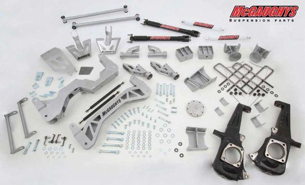 "7"" Premium Silver Lift Kit for 2011-2019 GM 2500 (4WD, Gas Motor)"