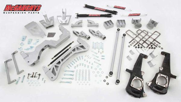 "7"" Premium Silver Lift Kit for 2011-2019 GM Truck 3500 (2WD, Gas Motor)"