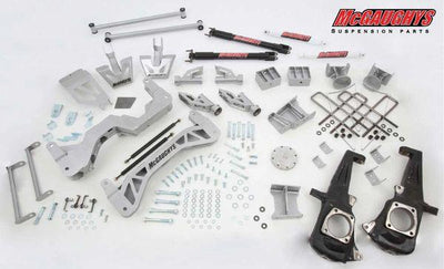 "7"" Premium Silver Lift Kit for 2011-2019 GM Truck 3500 (4WD, DIESEL"