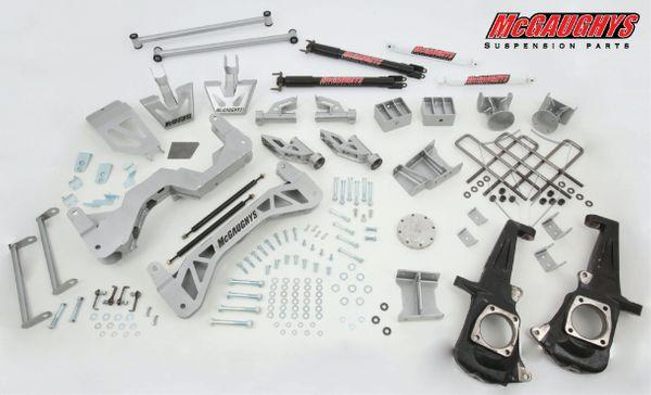 "7"" Premium Silver Lift Kit for 2011-2019 GM Truck 3500 (4WD, Gas Motor)"