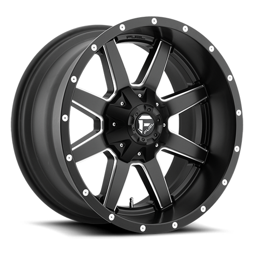 FUEL - MAVERICK - D538 - Matte Black & Milled