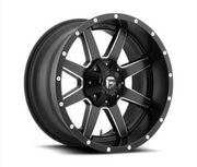 MHT Fuel Offroad Maverick D538 Black & Milled Wheels