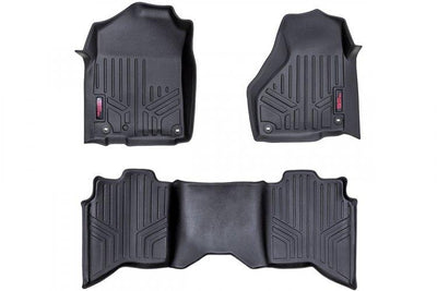 HEAVY DUTY FLOOR MATS [FRONT/REAR] - (12-18 DODGE RAM 1500)