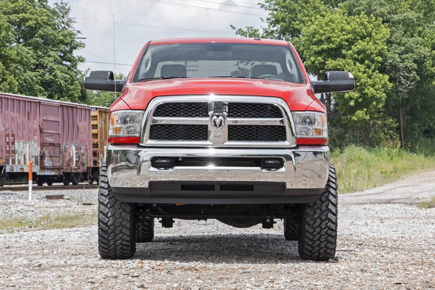 5IN DODGE SUSPENSION LIFT KIT | COIL SPRINGS | RADIUS DROPS (14-19 RAM 2500 4WD)