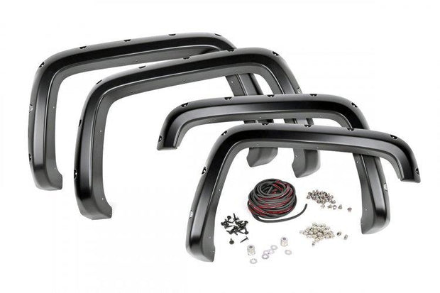 CHEVROLET POCKET FENDER FLARES W/RIVETS (07-13 SILVERADO 1500)