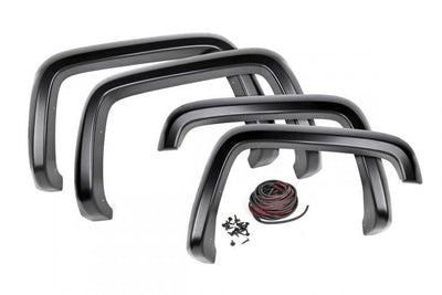 CHEVROLET POCKET FENDER FLARES | SMOOTH (14-15 SILVERADO 1500)