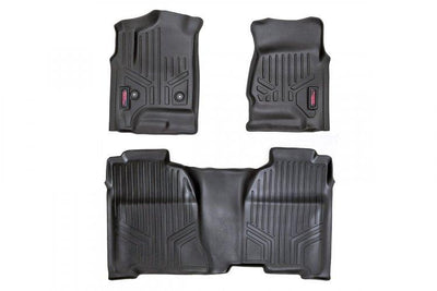 HEAVY DUTY FLOOR MATS [FRONT/REAR] - (14-19 CHEVY SILVERADO / GMC SIERRA)