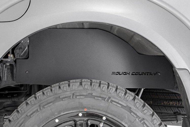 NISSAN FRONTIER STEEL REAR WHEEL WELL LINERS (05-19 | CREW CAB)