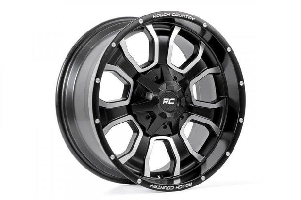 ROUGH COUNTRY ONE-PIECE SERIES 93 WHEEL, 20X10 (6X5.5)