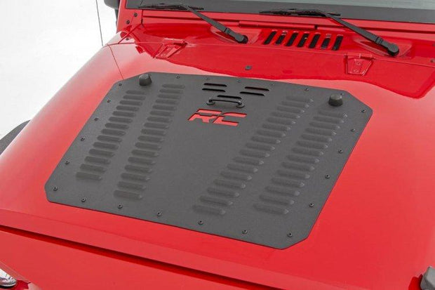 JEEP POWDER COATED HOOD LOUVER (07-18 WRANGLER JK)