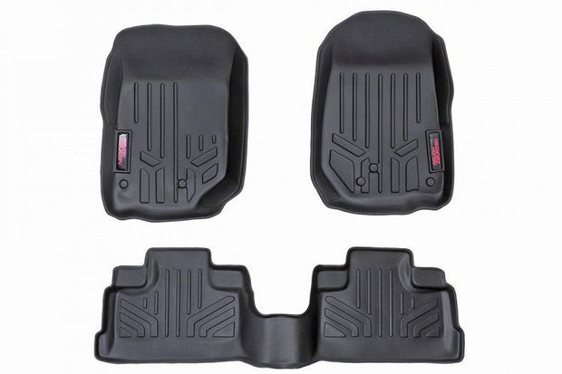 HEAVY DUTY FLOOR MATS [FRONT/REAR] - (14-18 JEEP WRANGLER JK UNLIMITED)