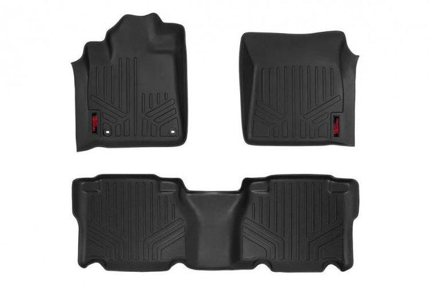 HEAVY DUTY FLOOR MATS [FRONT/REAR] - (14-19 TOYOTA TUNDRA)