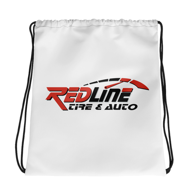 Redline Drawstring Bag