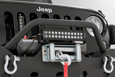 12-INCH LED LIGHT BAR ROLLER FAIRLEAD MOUNT