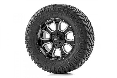 ROUGH COUNTRY SERIES 93 WHEEL [20X10 | 6X5.5] & NITTO 35X12.50R20 TRAIL GRAPPLER M/T COMBO