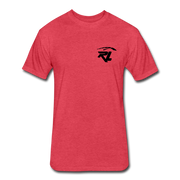 Men's Flag T-Shirt - heather red
