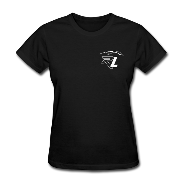 Women's Flag T-Shirt - black