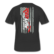 Men's Flag T-Shirt - black