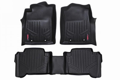 HEAVY DUTY FLOOR MATS [FRONT/REAR] - (12-15 TOYOTA TACOMA DOUBLE CAB)