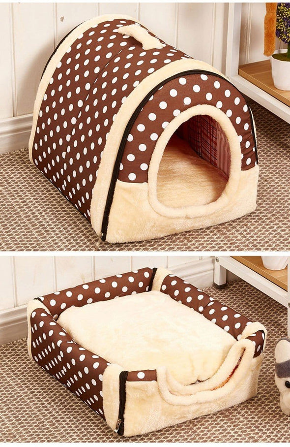 Multifunctional House Dog Bed
