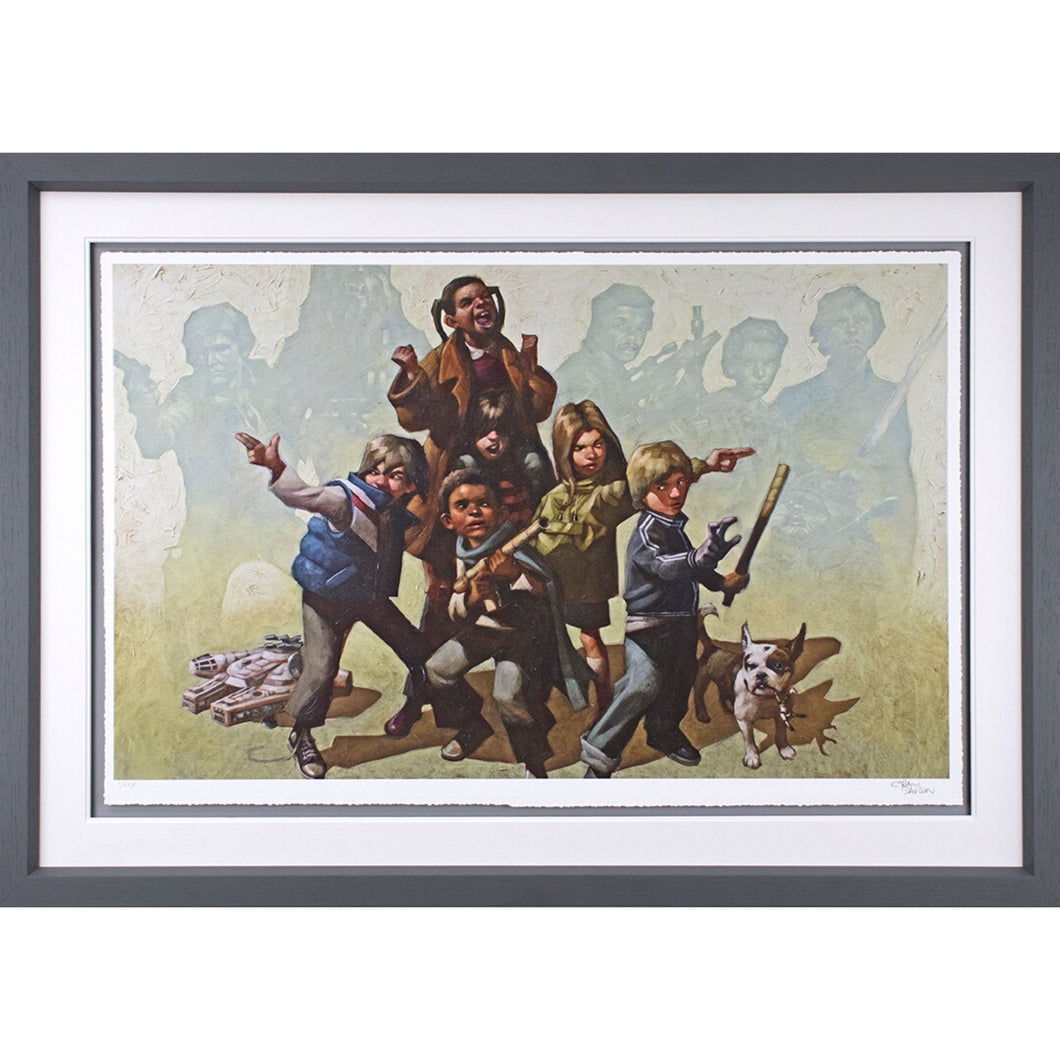 Craig Davison Force It Limited Edition Framed