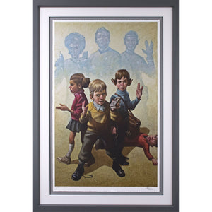 Craig Davison Phasers To Stun Framed Limited Edition